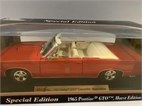Special Edition 1965 Pontiac GTO Hurst 1:18