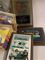 Lot-Car Show Awards and Collector Items