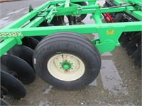 12' Industrias America Tandem Hydraulic Wheel Disc