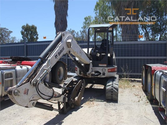 2008 Bobcat 435ZHS Catalano Truck And Equipment Sales And Hire - Heavy Machinery for Sale