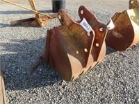 2' Backhoe Bucket
