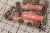 Pennies - 4+ Rolls 1946-57