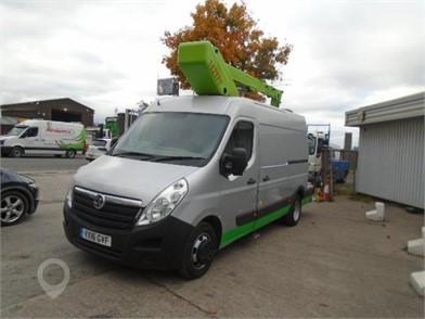 cherry picker vans for sale uk