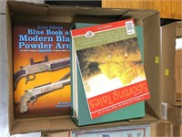 Lot, Black Powder Arms book and Sporting Tales