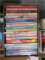 Lot, gun books, soft cover
