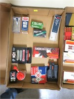 Lot, partial boxes CCI .22 WMR and .22 LR;