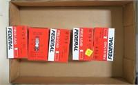 Lot, 5 boxes 12 Ga. Federal 4-shot (25's), Eley