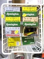 Lot, shotgun ammo: 4 boxes Remington 16 Ga.