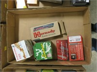 Lot, partial boxes ammo: Winchester .22 LR;