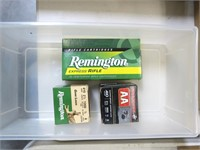 Lot, partial Remington .243 WIN (4 each); box