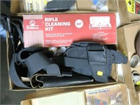 Lot, 2 Outers cleaning kits, holsters