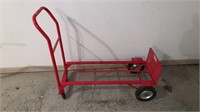Red 2 Wheel Dolly Solid Wheels