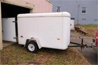 Single axle enclosed trailer 5x8
