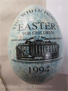 1994 WHITE HOUSE EASTER EGG Other Items