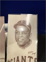 Willie Mays and Del Ennis Player Cards