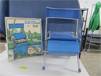 Lot (2) Classic Folding Fishing Chairs