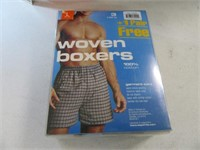 New 4pack L Boxer Shorts + 6can Cloth Cooler