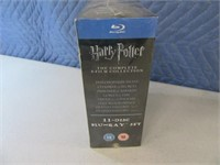 New HarryPotter 8pack Blu Ray Movie Set SEALED