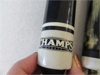 Champs Black/Custom Pool Cue