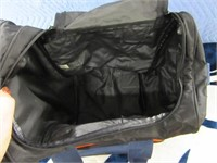 Broncos 3x5 Soft Throw Blanket + Duffle Bag