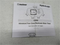New MELNOR 4zone Sprinkler Water Timer