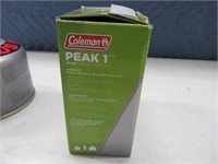 Coleman PEAK1 Hiking Stove + 3 Cans Fuel