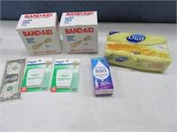 New BandAids~Soap~Floss~EyeDrops Bath Cabinet
