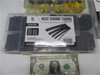 New HoseClamp~WireEnd~HeatShrinkTube Asst