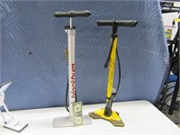 Lot (2) VERY NICE Hand Bike~Tire Push Pumps