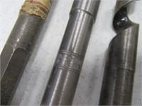 """Lot (5) XL 18"""" Wood Boring Drill Bits $$$$ Irwin"""