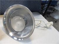Lot (5) Clip-On Aluminum Classic Lamps~Lights