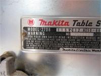 Makita Tabletop Table Saw ALL Metal NICE