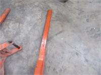 Lot (2) HOITSMA Steel Pump Platform Jacks $$$