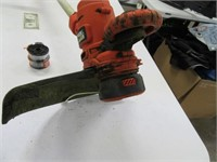 B&D Electric Grass Trimmer~Wacker w/ 2 New Reels