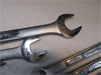 Lot (15) Craftsman Wrenches Hand Tools