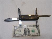 CVA BlackPowder Pocket Knife Gun Acces Portable