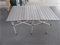Compact Alum Folding 28x44 Table Camp~Hunt~Hiking