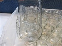 Lot (25+) Canning Jars ATLAS Etc