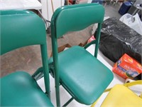 Lot (4) New Kids Padded Folding Chairs
