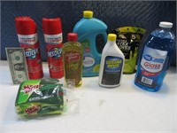 Lot (8) New Kitchen Cleaning Items Carpet ~Dishes