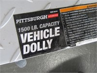 Lot (4) 1500lb Vehicle Dolly Movers EXC