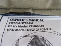 New Field&Stream 11'x9' Tent 4Person