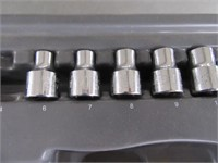 "Partial STANLEY 1/4"" & 3/8"" Drive Sockets Tools"