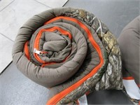 Lot (2) Brown/Camo Sleeping Bags