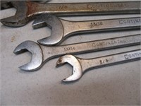 Lot (14) Hand Wrenches Tools