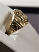 10k gold John Hallahan HS class ring