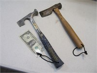 "Lot (2) 13"" Roofing Hatchet~Hammers ESTWING VAUGHN"