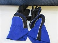 Lot (5) Mens L Gloves Work~Sport $$