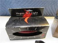 Lot (3) Bike Safety Lights Headlights Taillight