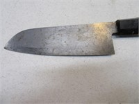 "Henckles 7"" Serrated Knife + Oriental 7"" Knife"